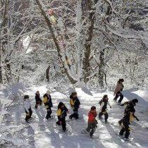 Caminhada com raquetes na neve Vivências