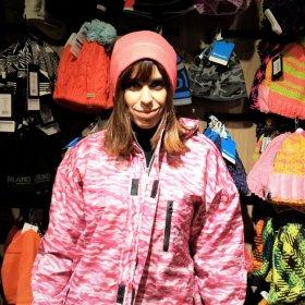 Roupa de neve: conjunto jaqueta