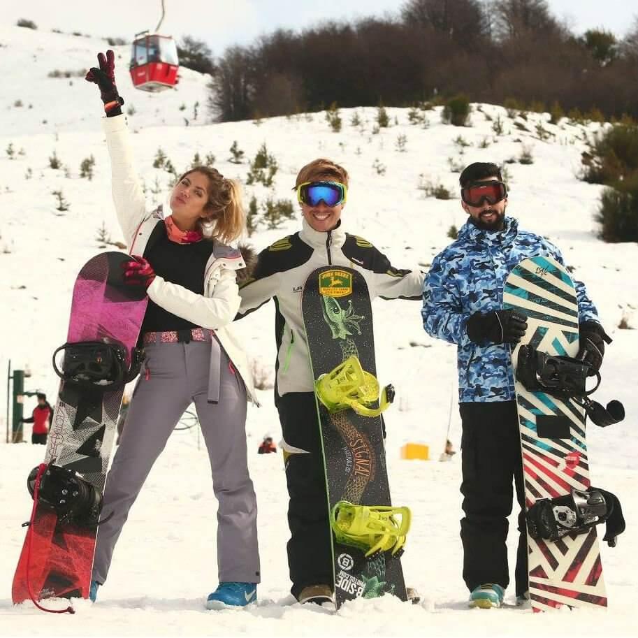 Batismo de Snowboard